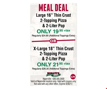 MEAL DEAL for up to $21.95