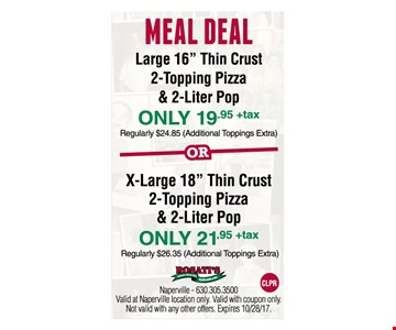 Meal Deal Large 16