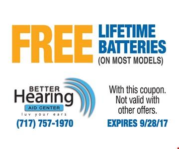 Free Lifetime Batteries