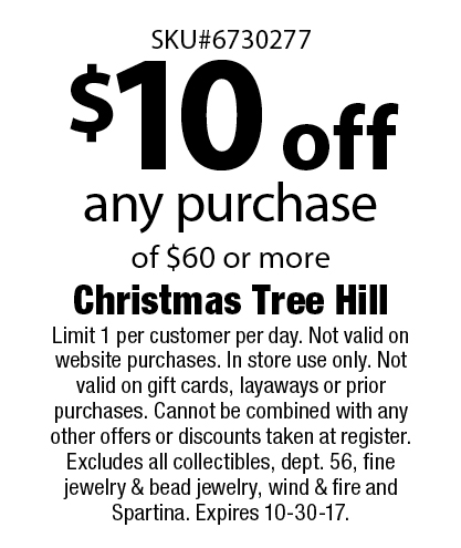 LocalFlavor.com - CHRISTMAS TREE HILL Coupons