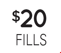 $20 fills