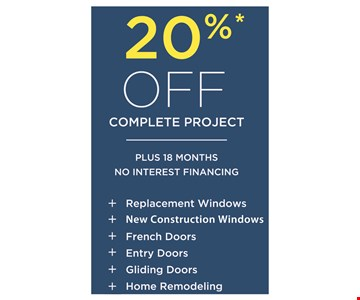 20% Off Complete Project