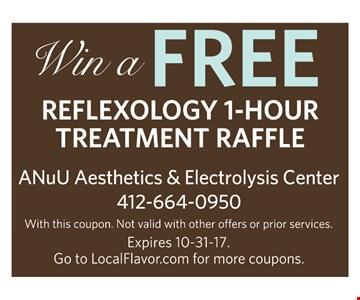 Win a Free Reflexology 1-Hour Treatment Raffle