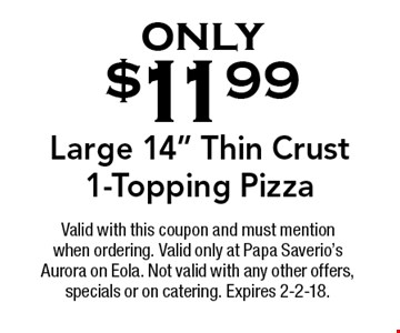 only $11.99 Large 14