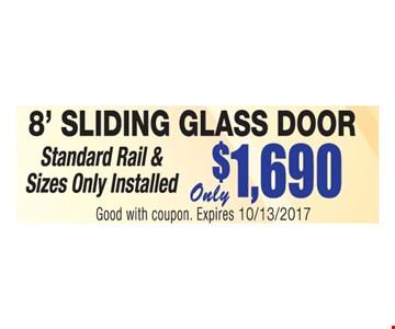 8' Sliding Glass Door