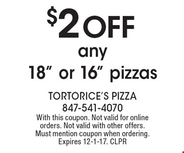 $2 OFF any 18