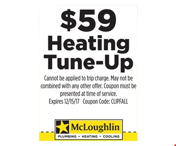 $59 Heating Tune-Up