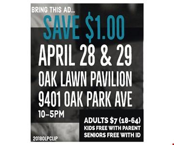 Save $1