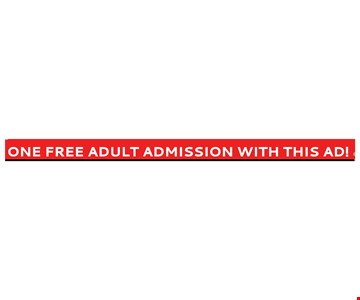 one free adult admission to the home show with this ad