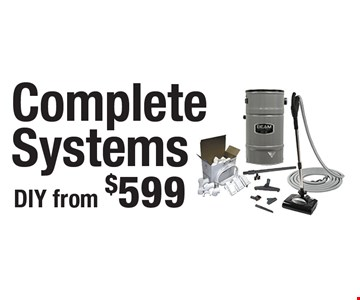 Complete Systems DIY from $599