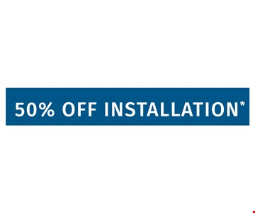 50 % Off installation. Limit one offer per household. Applies to purchases of 5 or more Classic or Designer Glide-Out™ shelves. Lifetime warranty valid for Classic or Designer Solutions. Expires 7/31/2018. Learn more at shelfgenie.com.