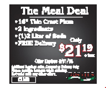 $21.19 Meal Deal