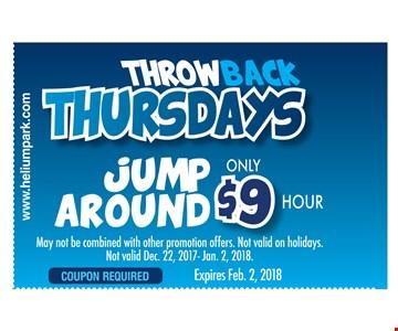 Throwback thursday Jump Around $9/hour