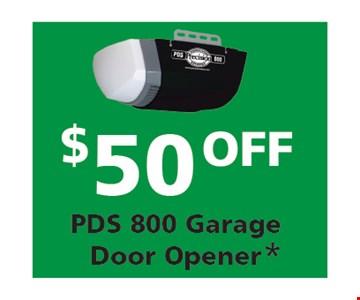 $50 PDS 800 Garage Door Opener