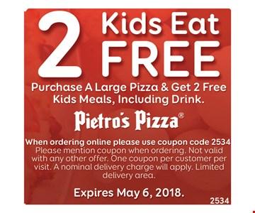 2 Kids eat free