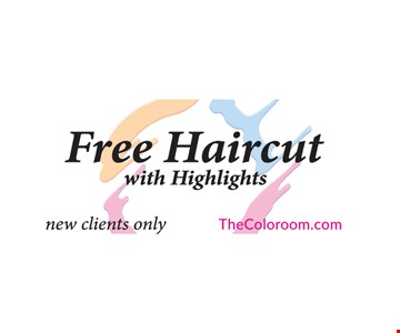 Free haircut with highlights