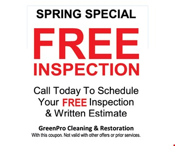 Spring special Free Inspection