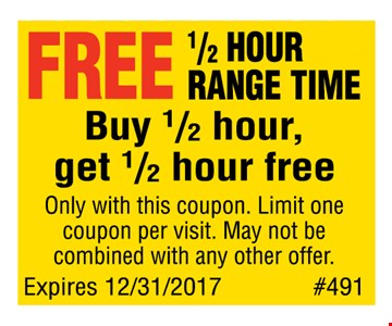 Buy a half hour of range time, get a half hour free