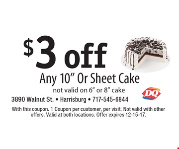 $3 off Any 10