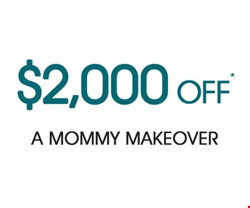 $2,000 Off A Mommy Makeover