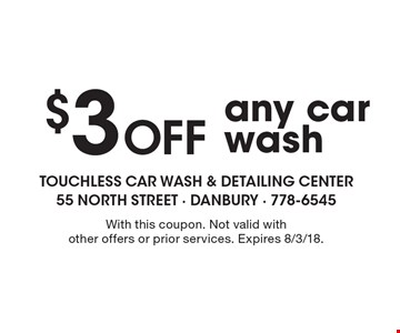 Localflavor touchless car wash coupons touchless car wash 3 off any car wash with this coupon not valid solutioingenieria Image collections