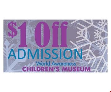 $1 off Admission