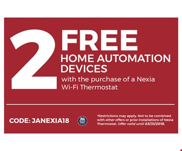 2 free home automation devices
