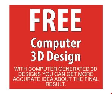 Free Computer 3D Design
