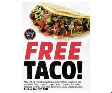 Free Taco!