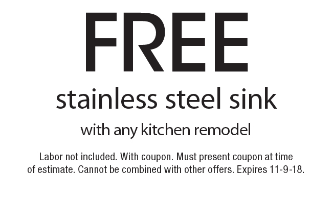 PACIFIC KITCHEN BATH U0026 FLOORING: Free Stainless Steel Sink With Any Kitchen  Remodel. Labor