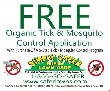 Free Organic tick and mosquito control application