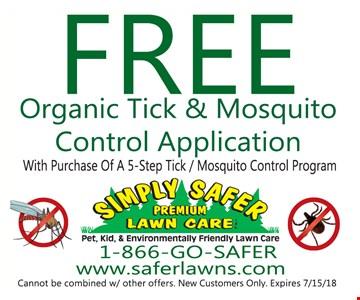 Free Organic Tick & Mosquito Control Application
