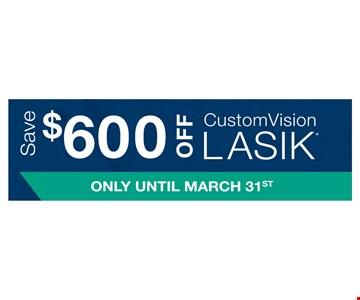 $600 off lasik