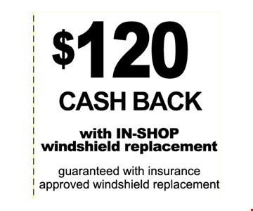 $120 cash back