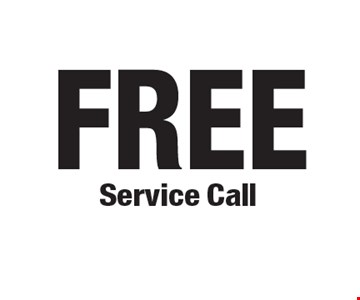 FREE Service Call.