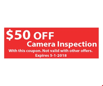 $50 off camera inspection