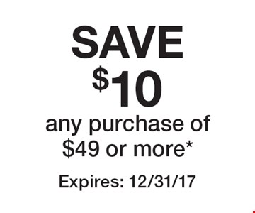 SAVE $10 any purchase of $49 or more*. Expires: 12/31/17 *Valid only at Staten Island location. Cannot be combined with any other offer. Restrictions may apply. See store for details. Edible®, Edible Arrangements®, and the Fruit Basket Logo are registered Trademarks of Edible IP, LLC.  © 2017 Edible IP, LLC. All Rights Reserved.