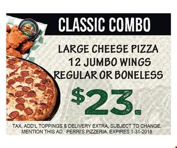 $23 Classic Combo