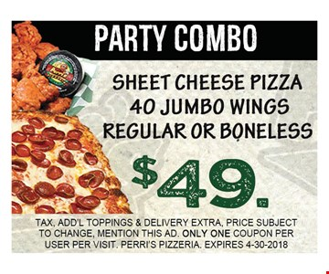 Party Combo $49