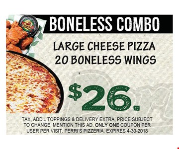 boneless combo $26