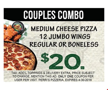 couples combo $20