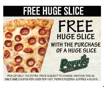 free huge slice