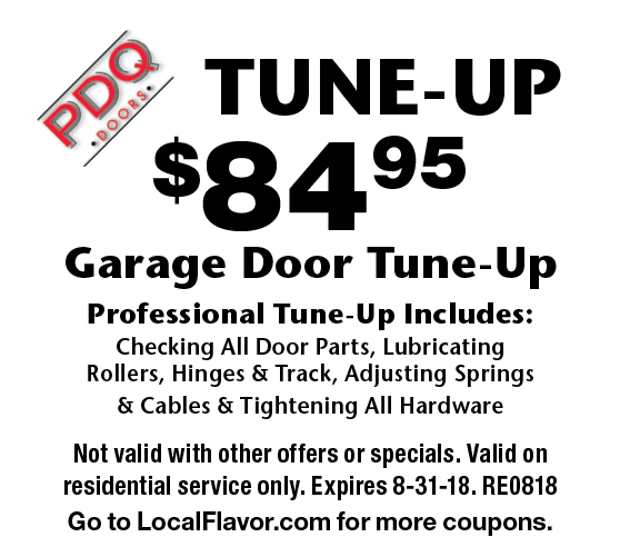 PDQ DOORS: Tune Up $84.95 Garage Door Tune Up Professional Tune Up