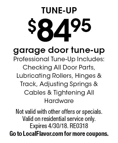 PDQ DOORS Tune-Up. $84.95 garage door tune-up. Professional Tune  sc 1 st  Local Flavor & LocalFlavor.com - PDQ DOORS Coupons