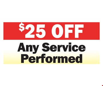 any service performed