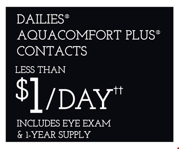 Contacts $1/day