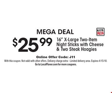 MEGA DEAL $25.99 16