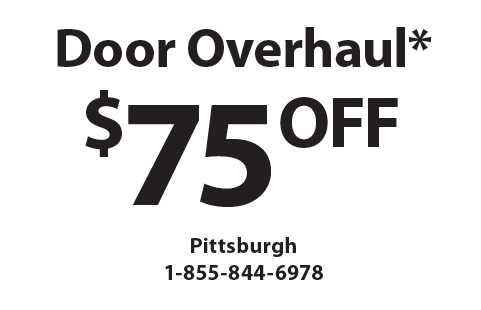 PRECISION GARAGE DOORS: $75 OFF Door Overhaul*. *must Mention Clipper  Magazine When