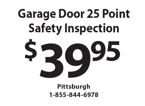 Attractive PRECISION GARAGE DOORS: $39.95 Garage Door 25 Point Safety Inspection.