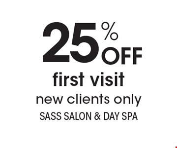 25% OFF first visitnew clients only. With this coupon. Not valid with other offers or prior services. Expires 2-9-18. Go to LocalFlavor.com for more coupons.